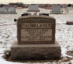 Clara May <I>Whisler</I> Cadwalader