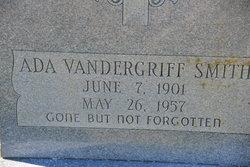 Ada <I>Vandergriff</I> Smith