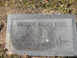 Vaidiene <I>Wilson</I> Boyd