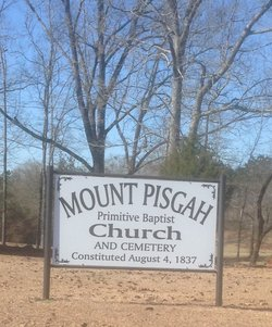 Mount Pisgah Primitive Baptist Cemetery