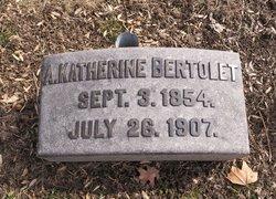 A. Katherine <I>Hughes</I> Bertolet