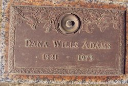 Dana <I>Wills</I> Adams