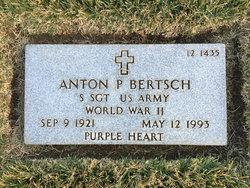 """Anton Peter """"Tony"""" Bertsch"""
