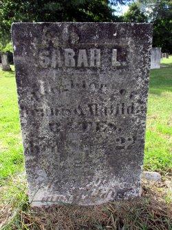 Sarah L. Bates