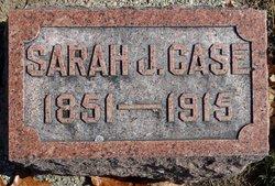 Sarah Jane <I>Shaw</I> Case