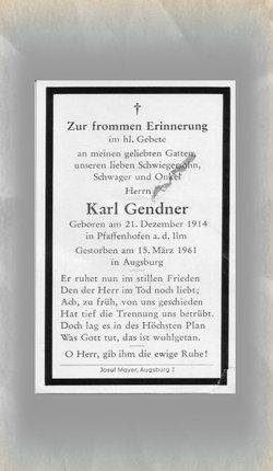 Karl Gendner