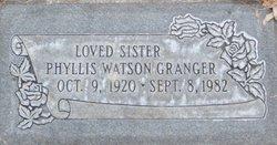 Phyllis Watson Granger