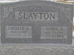 Doris B <I>Jones</I> Slayton