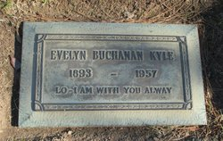 Evelyn <I>Buchanan</I> Kyle