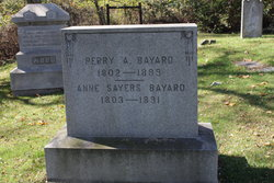 Anne <I>Sawyers</I> Bayard