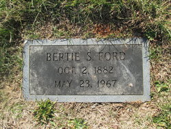 Bertie Mae <I>Shields</I> Ford