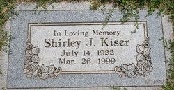Shirley <I>Juliussen</I> Kiser