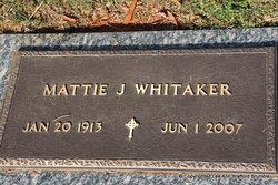 Mattie Joyce Whitaker