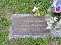 Lois Ann Alexander
