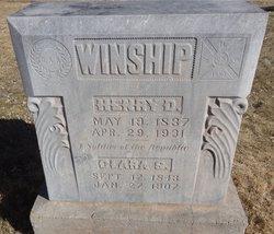 """Henry D """"Cap"""" Winship"""