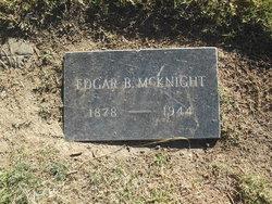 Edgar B McKnight