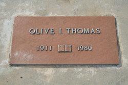 Olive I. Thomas
