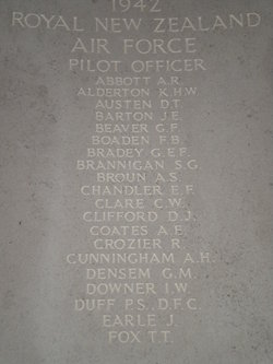 Pilot Officer Daniel Clifford