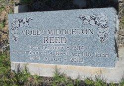 Violet Lillian <I>Middleton</I> Reed