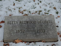 Betty Susan <I>Redwood</I> Deupree
