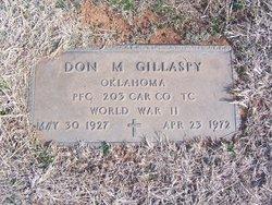 Don M Gillaspy