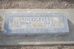 Julia F. <I>Rothgeb</I> Snodgrass