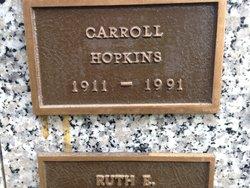 Carroll Hopkins