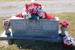"""Harvey Marshall """"Tige"""" Flowers"""