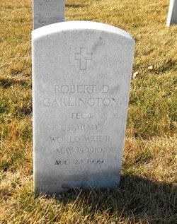 Robert D Garlington