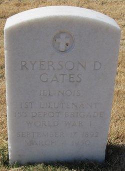 Ryerson Dudley Gates