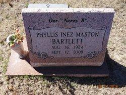 Phyllis <I>Matson</I> Bartlett