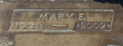 Mary Lee <I>Elmore</I> Baker