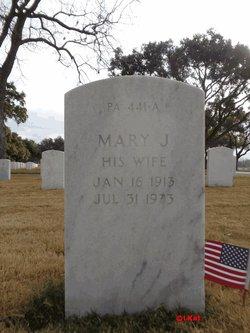 Mary J <I>Jasper</I> Cooper
