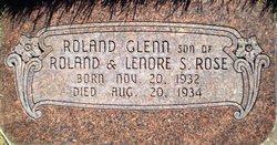"""Roland Glenn """"Glenny"""" Rose"""