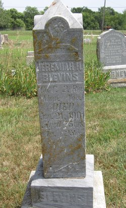 Pvt Jeremiah Harding Blevins