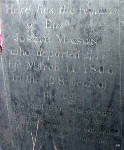 Ens Joseph Mason