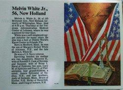Melvin A White, Jr