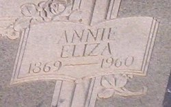 Annie Eliza <I>Gholson</I> Morgan