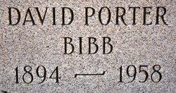 David Porter Bibb, Sr