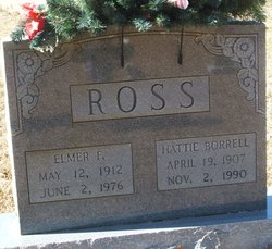 Hattie <I>Borrell</I> Ross