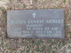 Gordon Ernest Ackley