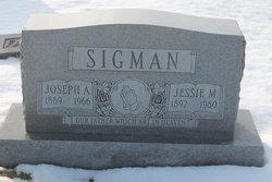 Jessie M <I>Wade</I> Sigman