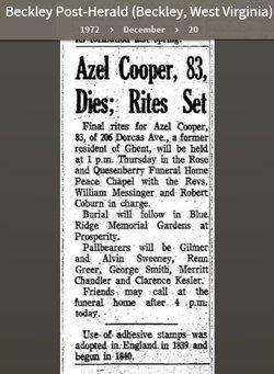Azel Cooper