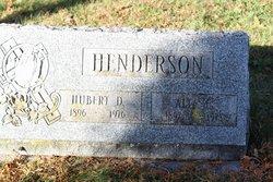 Alta E <I>Dubois</I> Henderson