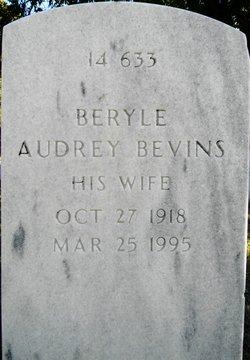 Beryle Audrey Bevins