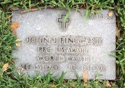 John J Finucane