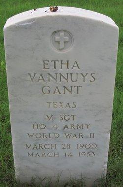 Etha Vannuys <I>Goodman</I> Gant