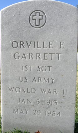 Orville E Garrett