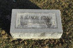 A Blanche Bolser