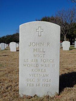 MSGT John Rankin Hill Sr.